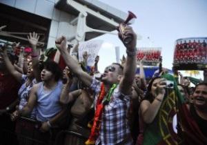 Португальців на батьківщині зустріли як героїв
