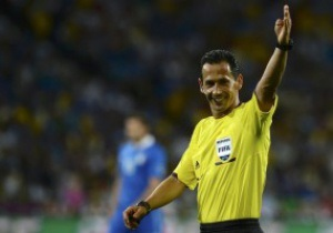 Испанию и Италию в финале Евро-2012 рассудит португальский рефери