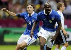 Фотогалерея: СуперМарио. Италия победила Германию в полуфинале Евро-2012