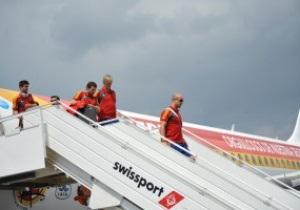Збірна Іспанії прибула до Києва і оселилася за декілька кроків від фан-зони