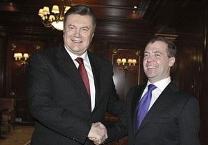 Янукович зустрівся з Медведєвим: Мене продовжує серйозно хвилювати газова проблема