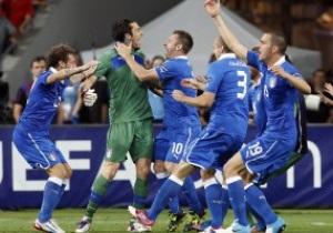 Фарт закінчився: Англія поступилася Італії місцем у півфіналі