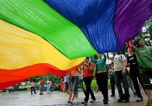 Берлінський гей-парад проти дискримінації гомосексуалів в Україні