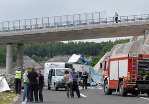 У Хорватії розбився чеський автобус: не менше семи осіб загинули