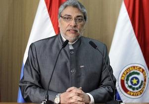 Президент Парагваю підкоряється рішенню сенату про свою відставку