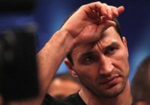 Суперник Володимира Кличка відмовився від бою з ним заради пояса Віталія