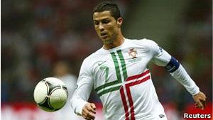 Збірна Португалії вийшла у півфінал Євро-2012