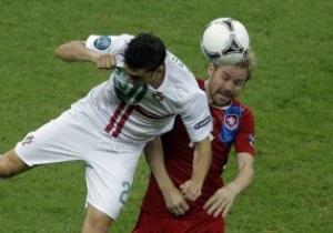 Чехія - Португалія - 0:1, Роналдо забиває. Live