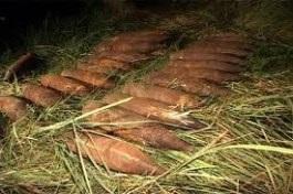 У Запорізькій області виявлено та знешкоджено 150 боєприпасів часів Другої світової