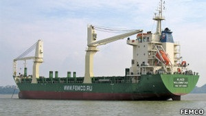 Корабель, що начебто віз Мі-25 у Сирію, повертається до Росії