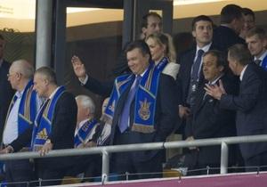 Абрамович посетит матч Англия - Украина, а Янукович пообщается с болельщиками в донецкой фан-зоне