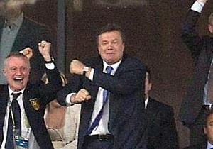 Янукович посмотрит матч Украина - Англия в Донецке