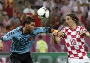 Фотогалерея: Испания и Италия отцепляют Хорватию от Евро-2012