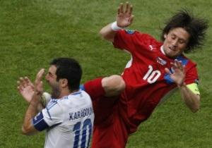 Лідер збірної Чехії ризикує пропустити чвертьфінал Євро-2012