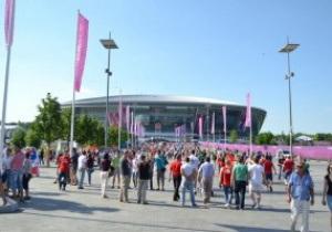 Міськрада Донецька: Місто за два ігрових дні відвідали 70 тисяч уболівальників