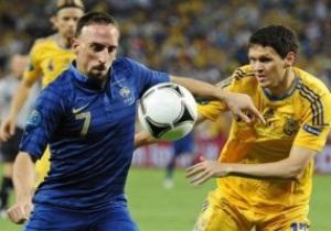 Рибери: С Украиной мы сыграли лучше, чем с Англией