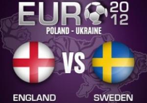 Швеція - Англія - 2:3. Текстова трансляція