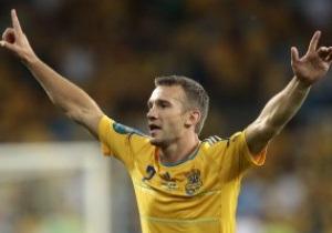 Шевченко став кращим гравцем першого раунду Євро-2012