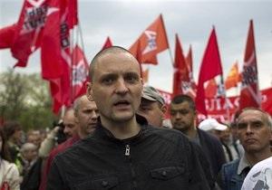 Удальцов закликав провести новий масовий мітинг у день народження Путіна