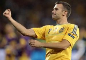 Фотогалерея: Спасибо, Царь. Шевченко добыл победу для Украины над Швецией