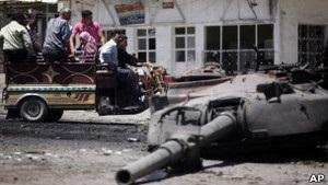 Влада Сирії поновила атаки на Хомс