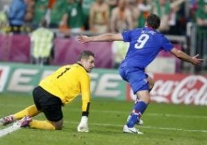 Неожиданные лидеры: Хорватия уверенно обыграла Ирландию