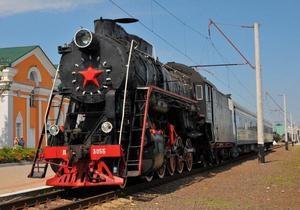 Юго-Западная железная дорога сегодня запустила экскурсионный ретропоезд
