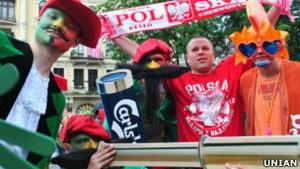 До України вже приїхали понад 17 тисяч уболівальників
