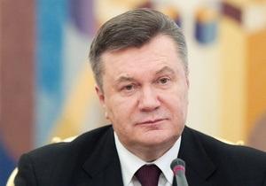 Янукович поздравил Путина с победой сборной России в матче Евро-2012