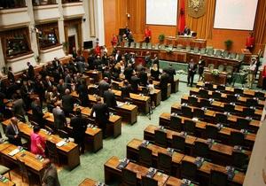 В Албанії втретє провалилася спроба обрати президента