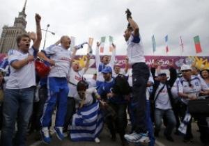 Фотогалерея: Фанатський десант. Уболівальники прибувають на матчі Євро-2012