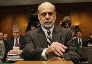 Мовчання Бернанке про нові стимули розчарувало ринки