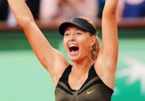 Шарапова виходить у фінал Roland Garros і стане першою ракеткою світу