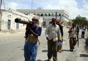 США оголосили полювання на лідерів сомалійських ісламістів