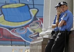 Українська міліція рекомендує іноземним уболівальникам пересуватися вночі групами