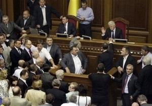 Мовний закон: опозиція і партія Литвина обмінялися різкими заявами