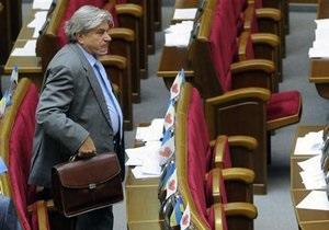 Рада відклала законопроект про обмеження недоторканності Президента і депутатів