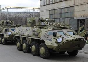 Ірак прийняв другу партію української бронетехніки