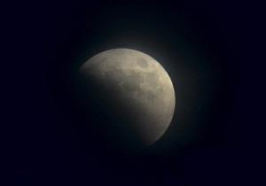 Перше в цьому році місячне затемнення побачать у США, Австралії й Китаї