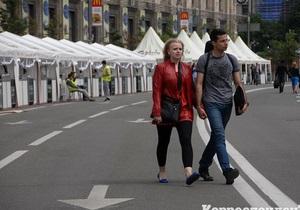 Сьогодні в Києві відкрилося Європейське містечко