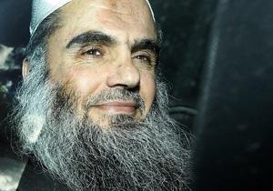 Влада Британії відмовилася звільнити під заставу радикального ісламського проповідника