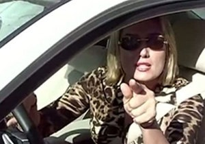 Суд визнав Розинську винною в інциденті з працівниками ДАІ