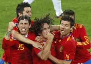 Испания назвала окончательный состав на Евро-2012