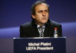 Платини: Евро-2012 пройдет, а дороги и аэропорты еще долго будут использоваться