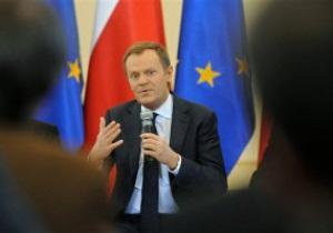Туск: Польша отлично подготовилась к Евро-2012