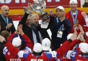 Фотогалерея: Возвращение Красной машины. Россия - чемпион мира по хоккею - 2012