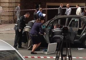МВС повідомило подробиці перестрілки у центрі Києва