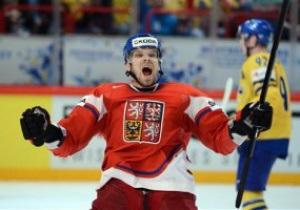 Чехия победила Швецию в четвертьфинале ЧМ по хоккею