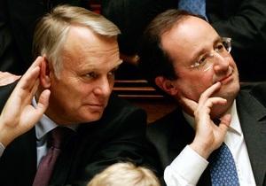 Олланд на 30% зменшив зарплату собі і міністрам