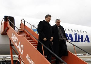Поїздку Януковича до Волинської області перенесли через негоду
